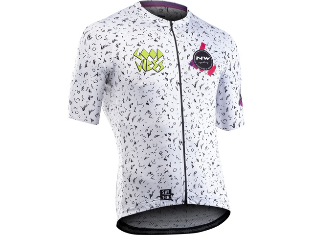Northwave Vibes Short Sleeve Jersey Men white